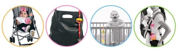 拉芙兒 玩具好朋友 - 小東西掛帶 (瓢蟲)『121婦嬰用品館』