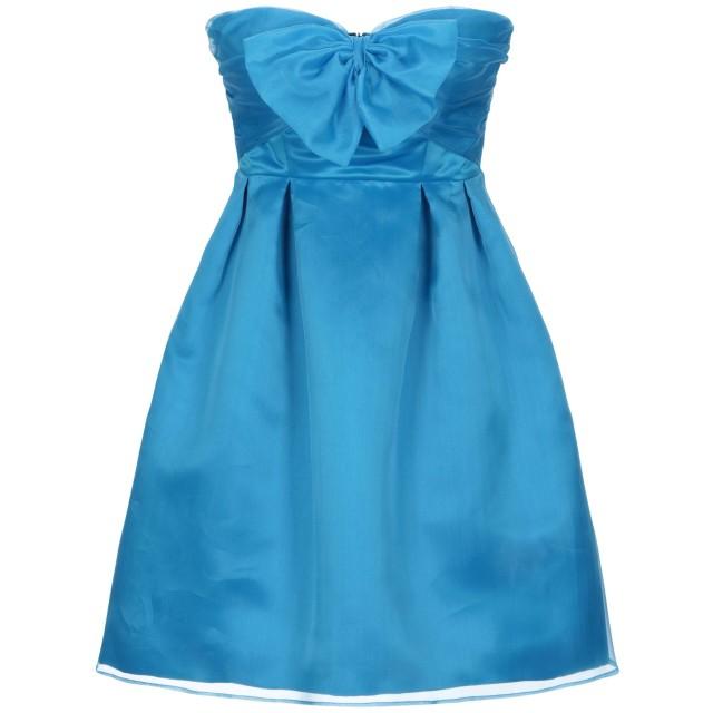 《セール開催中》PINKO レディース ミニワンピース&ドレス アジュールブルー 40 シルク 100%