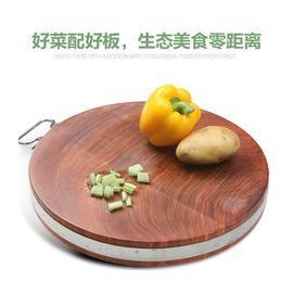 圓39cm4cm越南鐵木砧板 實木菜板 蜆木憲木案板 切菜板