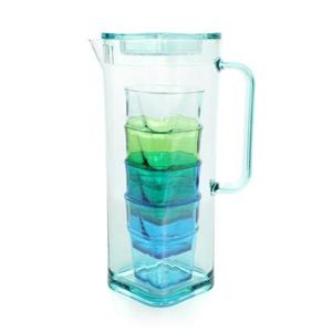 Lovel時尚餐廚系列-冰晶冷水壺杯5件組(1.8L)