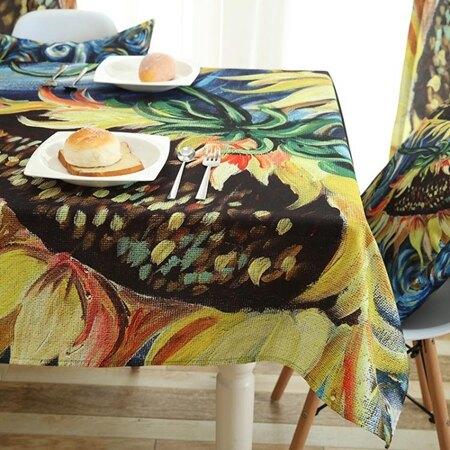 歐式防水防油防污防燙免洗桌布現代簡約長方形桌布桌巾 萬客居 聖誕節禮物