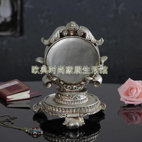 複古座鐘時鐘表創意時尚工藝台鐘擺件家居裝飾品書房客廳擺設