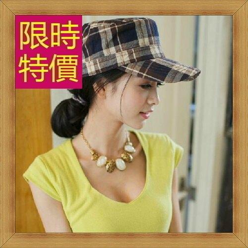 ★軍帽女帽子-休閒時尚潮流棒球帽6色57j53【獨家進口】【米蘭精品】