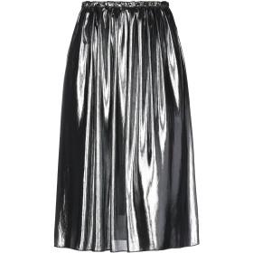 《セール開催中》EMMA レディース 7分丈スカート グレー XS ポリエステル 100%