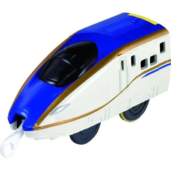 【Fun心玩】TP88753 麗嬰 PLARAIL 多美 鐵道王國 有聲推推車 E7系 新幹線(不含軌道) 火車