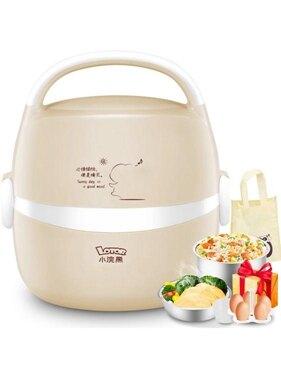 電熱飯盒保溫可插電自動加熱蒸煮熱飯神器煮飯帶鍋煲上班族 年會尾牙禮物