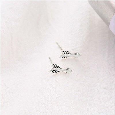 925純銀耳環箭頭耳飾-日韓時尚百搭創意女飾品73qk45【獨家進口】【米蘭精品】