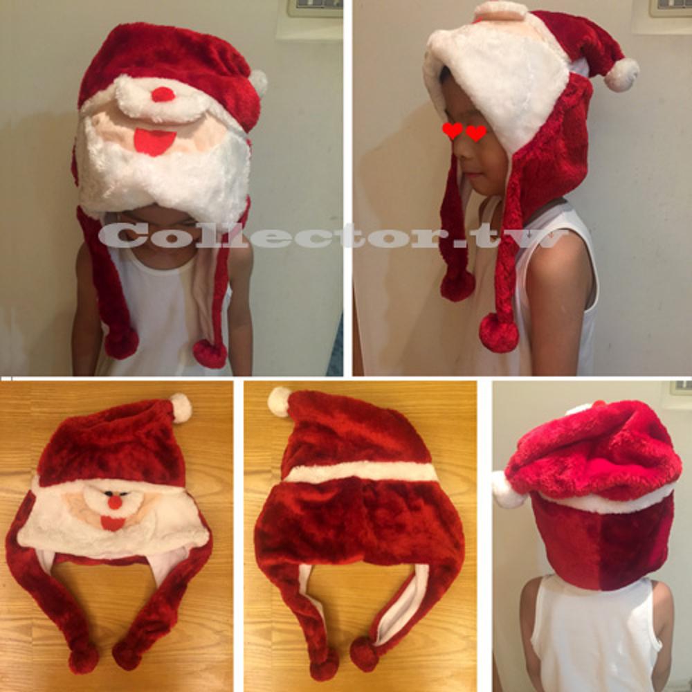 ✤宜家✤新品熱賣-聖誕老人帽 卡通毛絨帽子 聖誕帽 卡通帽
