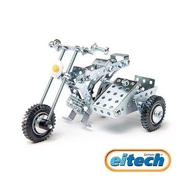 【德國eitech】益智鋼鐵玩具-三輪重型機車 C85