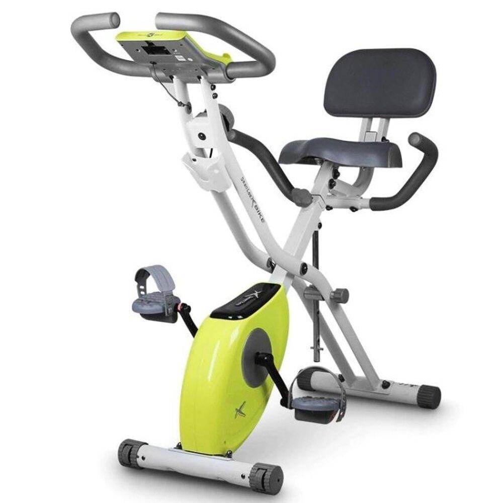 雷超靜音動感單車家用磁控健身車摺疊室內自行車健身器材  極客玩家  ATF