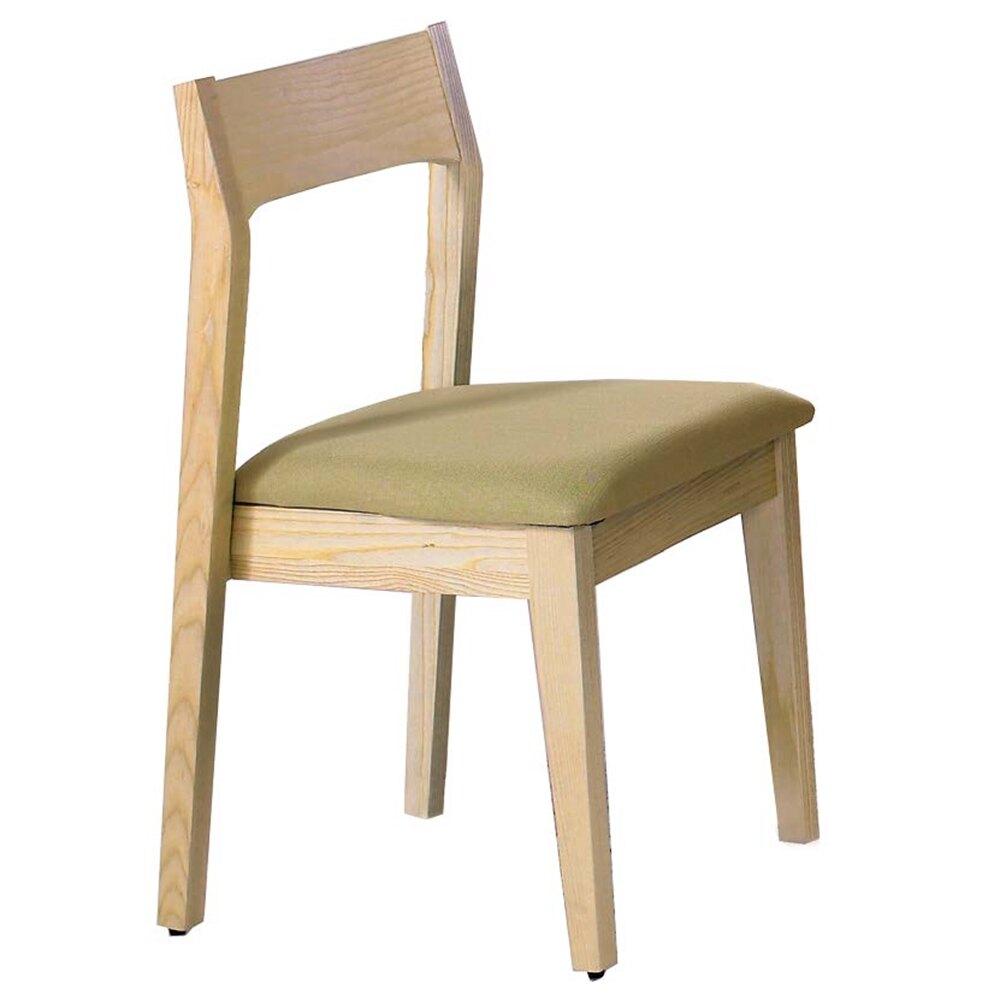 布蘭妮栓木綠色布餐椅