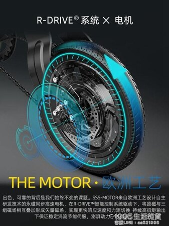 電動車 摺疊電動自行車小型成人電瓶車新國標電動車鋰電代駕車 清涼一夏特價