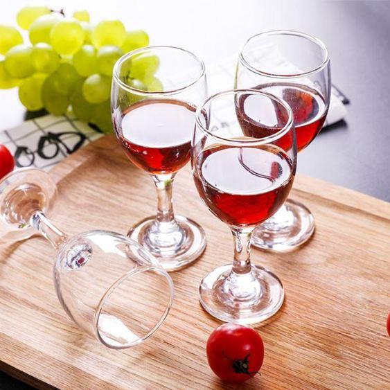 紅酒杯家用組合裝無鉛洋酒杯雞尾酒杯歐式葡萄酒杯6只裝