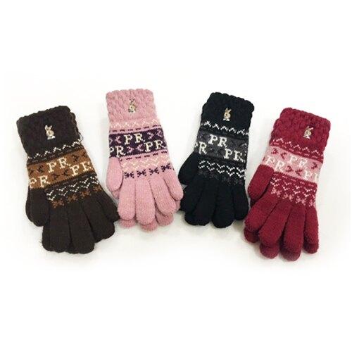 彼得兔/比得兔 雙層兒童保暖手套(顏色隨機出貨)GL052★手套(顏色隨機出貨)GL7215★愛兒麗婦幼用品★