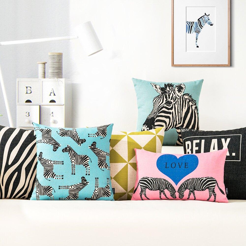 ✤宜家✤時尚簡約實用抱枕141  靠墊 沙發裝飾靠枕