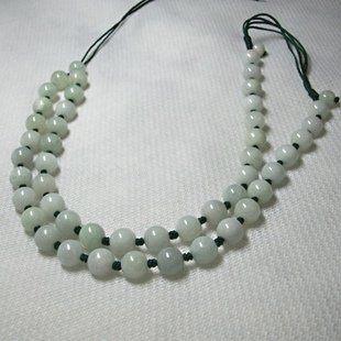 翡翠玉珠子項鏈
