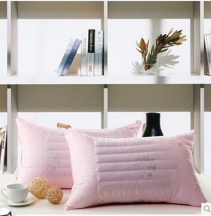 喜夫人 蕎麥枕頭 羽絲絨單人蕎麥枕芯 正品花草枕 特價2個組