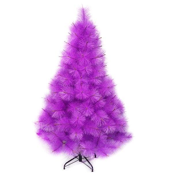 【摩達客】台灣製5尺/5呎(150cm)特級紫色松針葉聖誕樹裸樹 (不含飾品)(不含燈)本島免運費YS-NPPT05004