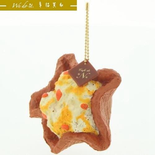 日本帶回正品軟軟 星星蛋糕軟軟-橘色