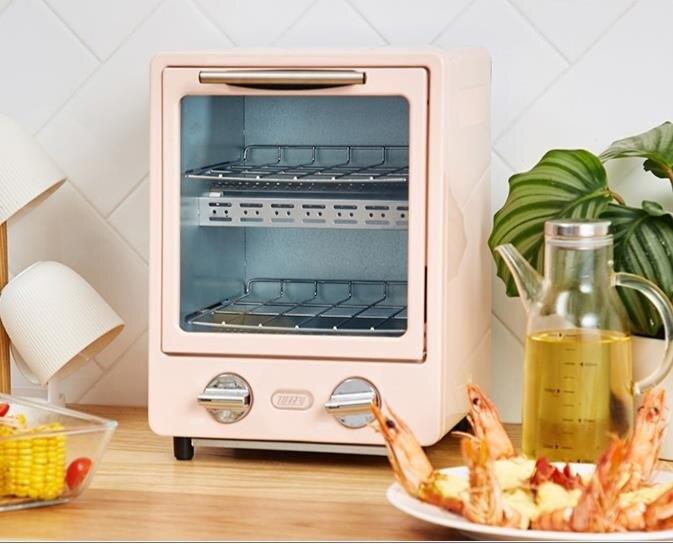 電烤箱 日本雙層烤箱家用烘焙多功能迷你小型電烤箱9L  聖誕節禮物