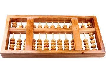13檔桃木算盤擺件兒童珠心算木制算盤招財旺財驅邪化煞