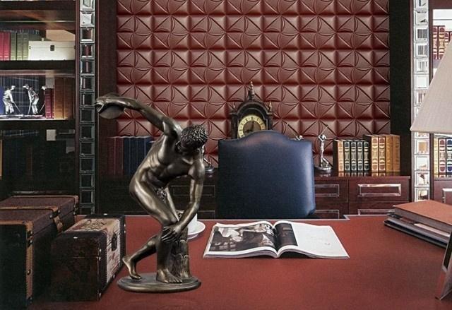 歐式家居飾品希臘藝術收藏品擲鐵餅者人物雕塑擺件酒店軟裝飾品