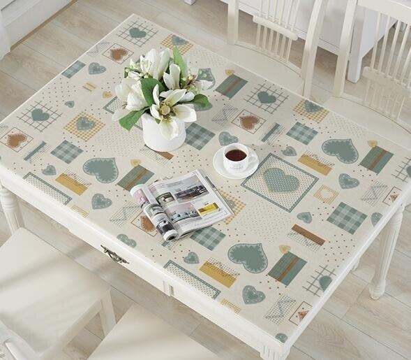 桌墊 透明桌墊pvc加厚軟玻璃桌布防水防燙膠墊桌面墊子茶幾墊塑料臺布 全館八八折