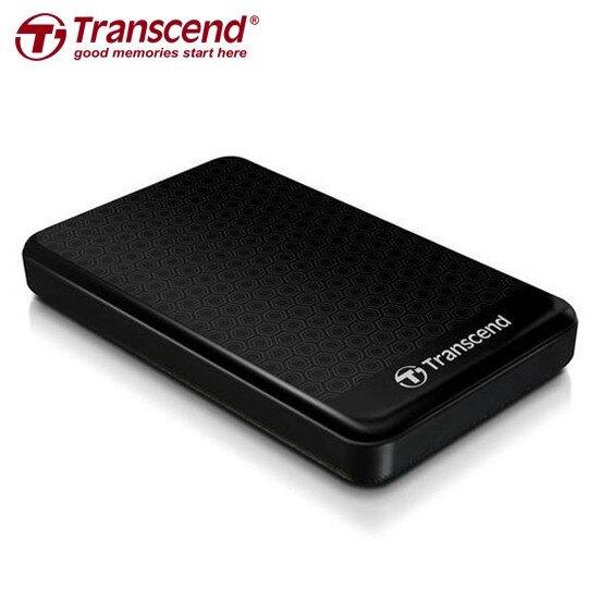 創見 StoreJet 25A3 1TB USB3.0 2.5吋 TS1TSJ25A3 行動硬碟 黑色