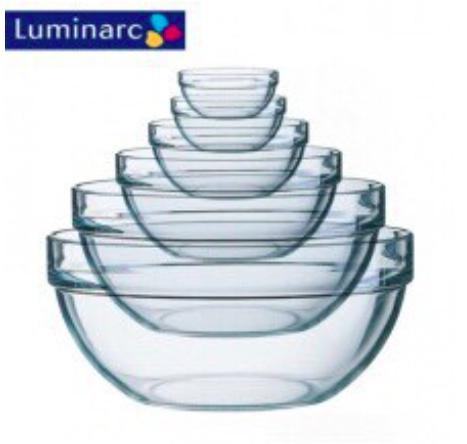 6cm~23cm樂美雅強化金剛碗 調理碗 玻璃碗 沙拉碗 強化玻璃碗 料理節目專用碗 弓箭牌 廚房餐具
