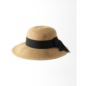 Charles Chaton TOUCAN HAT wide bow packable ブラック フリー