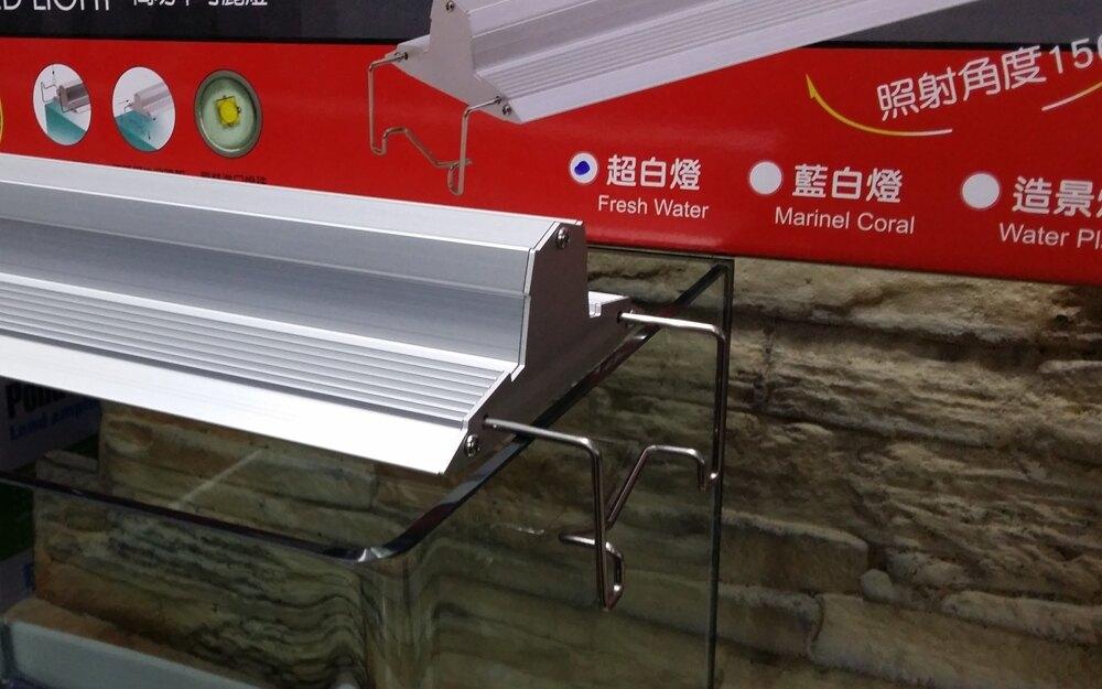 【西高地水族坊】伊士達 ISTA 最新款 高功率可麗燈 LED跨燈5尺LED跨燈(海水藍白燈)