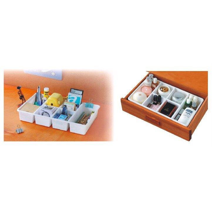小物收納~TLR204 TLR-204 你可綜合6格收納盒*1入組【139百貨】