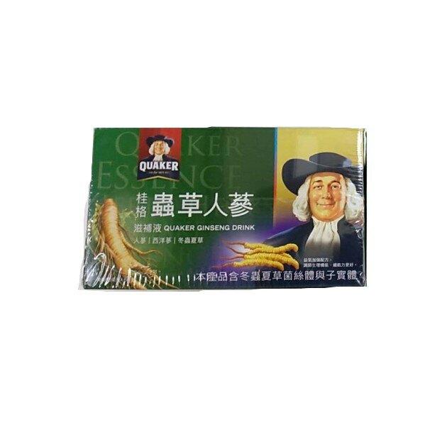 *健人館* 桂格 蟲草養氣人蔘60mlx6瓶/盒