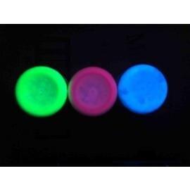 綠色50克0-1L防偽盜捉賊涂料夢幻天使漆涂料幻彩隱形壁畫顏料密室紫外線熒光粉