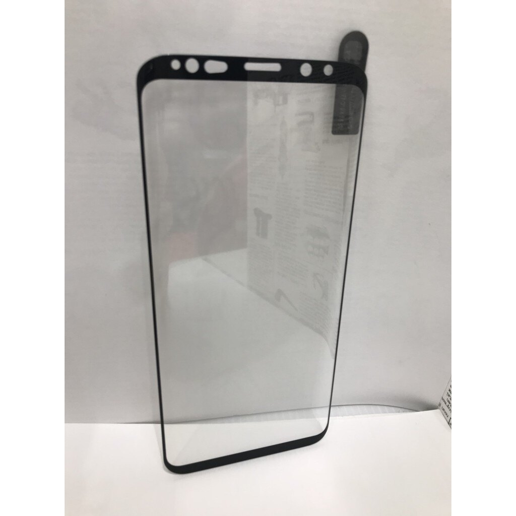 【框膠3D不卡殼】三星 samsung S9 Plus/G965F 6.2吋 3D 曲面 亮面 黑色 滿版 鋼化玻璃貼