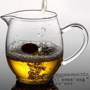 手工耐熱玻璃公道杯