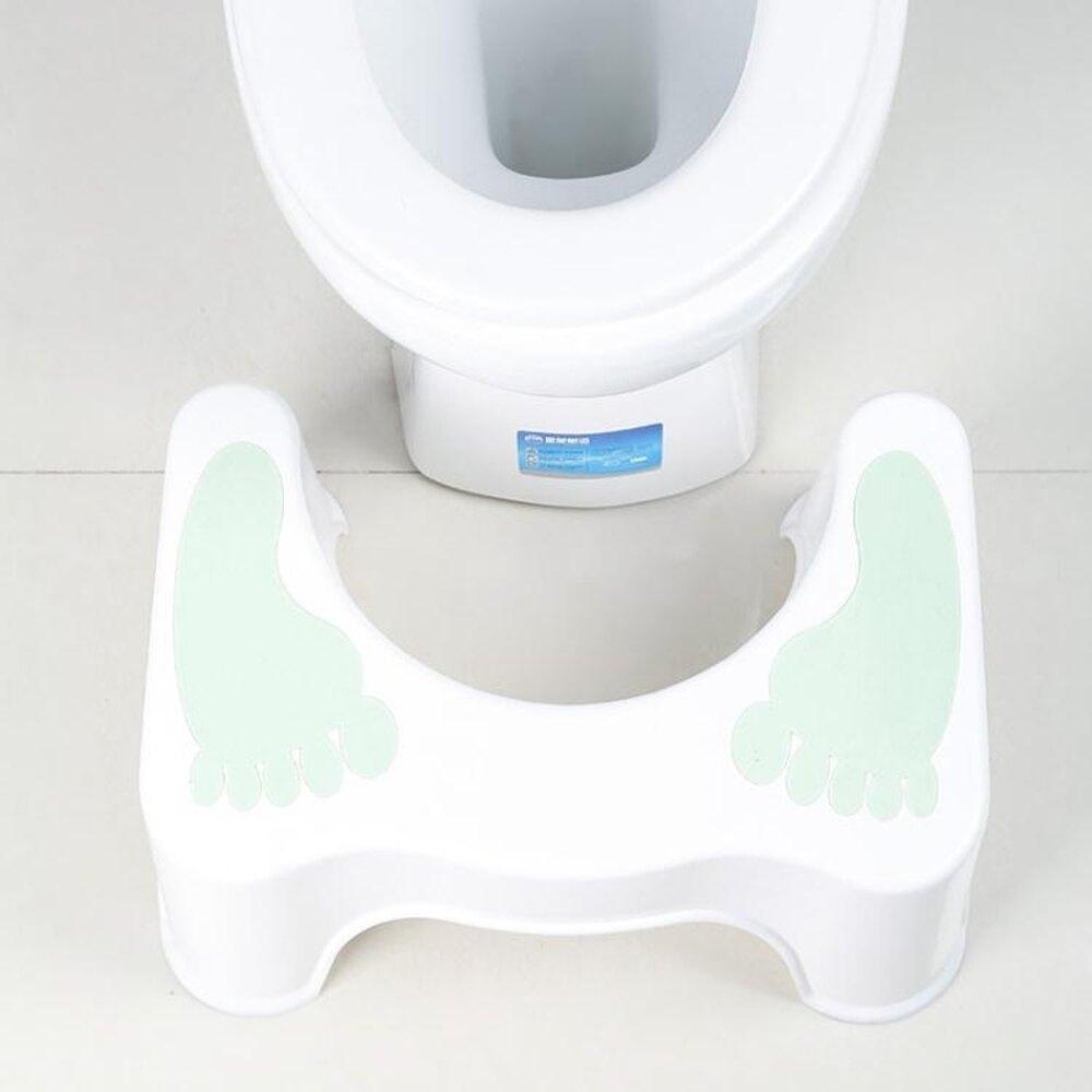 加厚塑膠馬桶墊腳凳防滑浴室便凳兒童孕婦如廁增高收納登墊腳器 歐韓時代