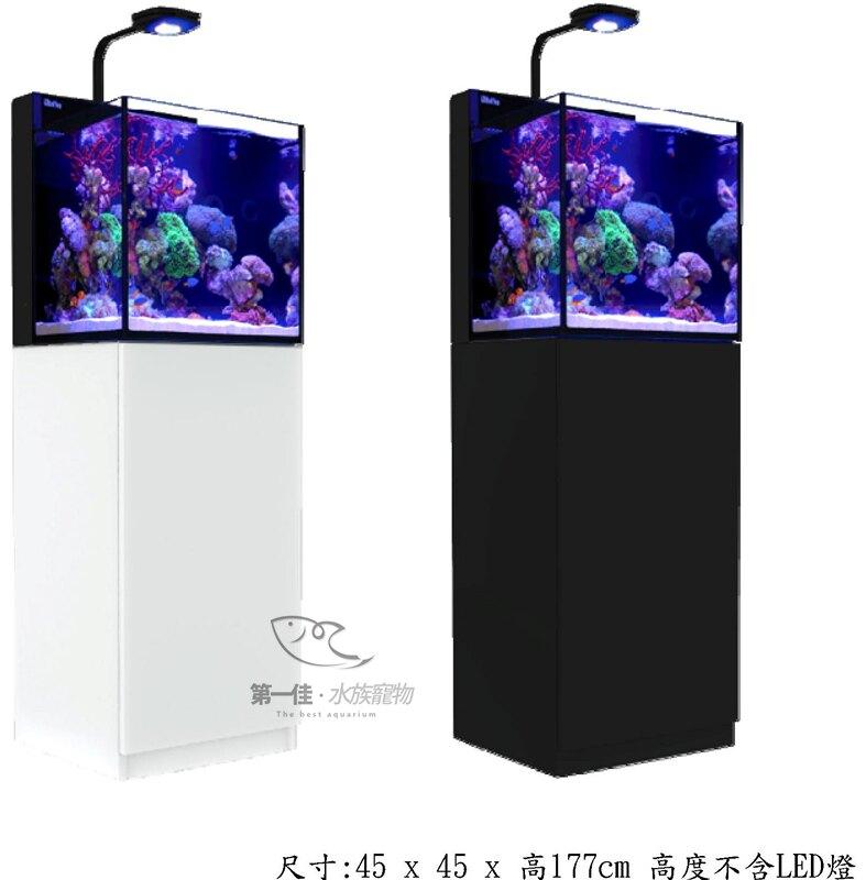 [第一佳 水族寵物] 以色列Red Sea紅海 新缸【頂級背濾水族箱LED版 R-N-145B 黑】
