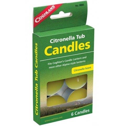 COGHLANS 香茅小蠟燭 CITRONELLA TUB CANDLES / BU-9806