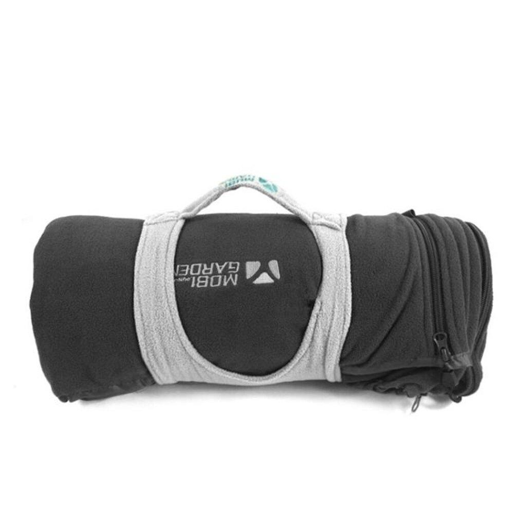 睡袋牧高笛戶外登山露營野營防寒保暖單人加厚搖粒絨含抓絨便攜睡袋XYCY潮流站
