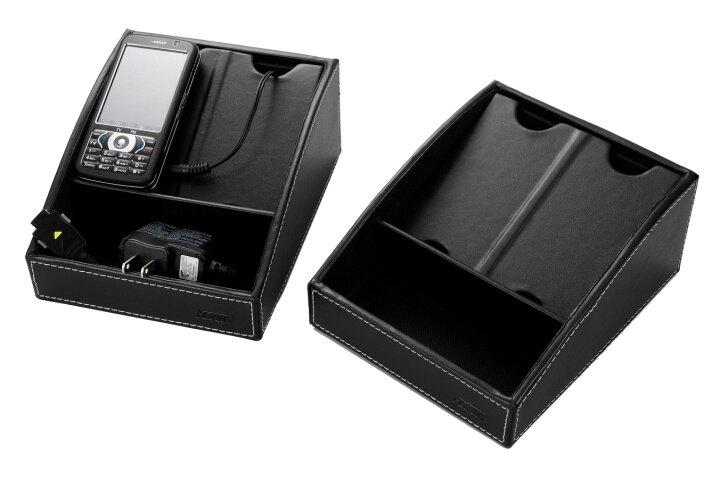 雙鶖牌 FLYING HCS-1116 波德徠爾皮質手機收納&充電盒 / 個