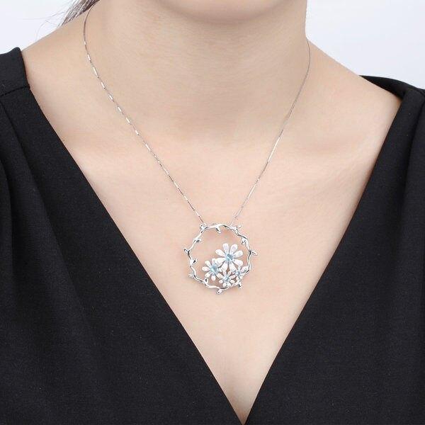 【春花】銀精工系列 太陽花女式項鏈