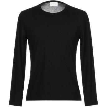 《セール開催中》DONDUP メンズ T シャツ ブラック S コットン 100%