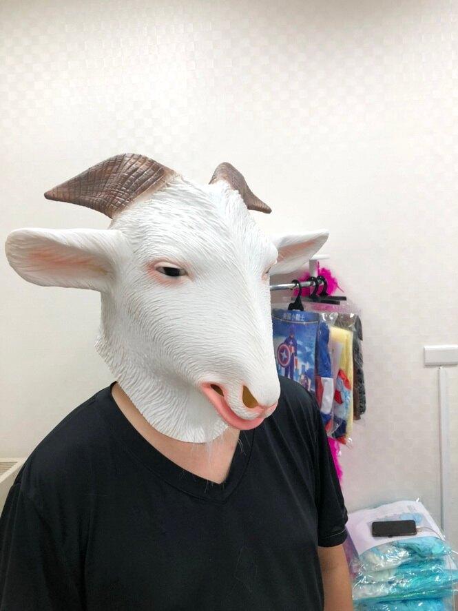 東區派對-萬聖節面具/恐怖面具/搞笑面具/動物面具/山羊面具
