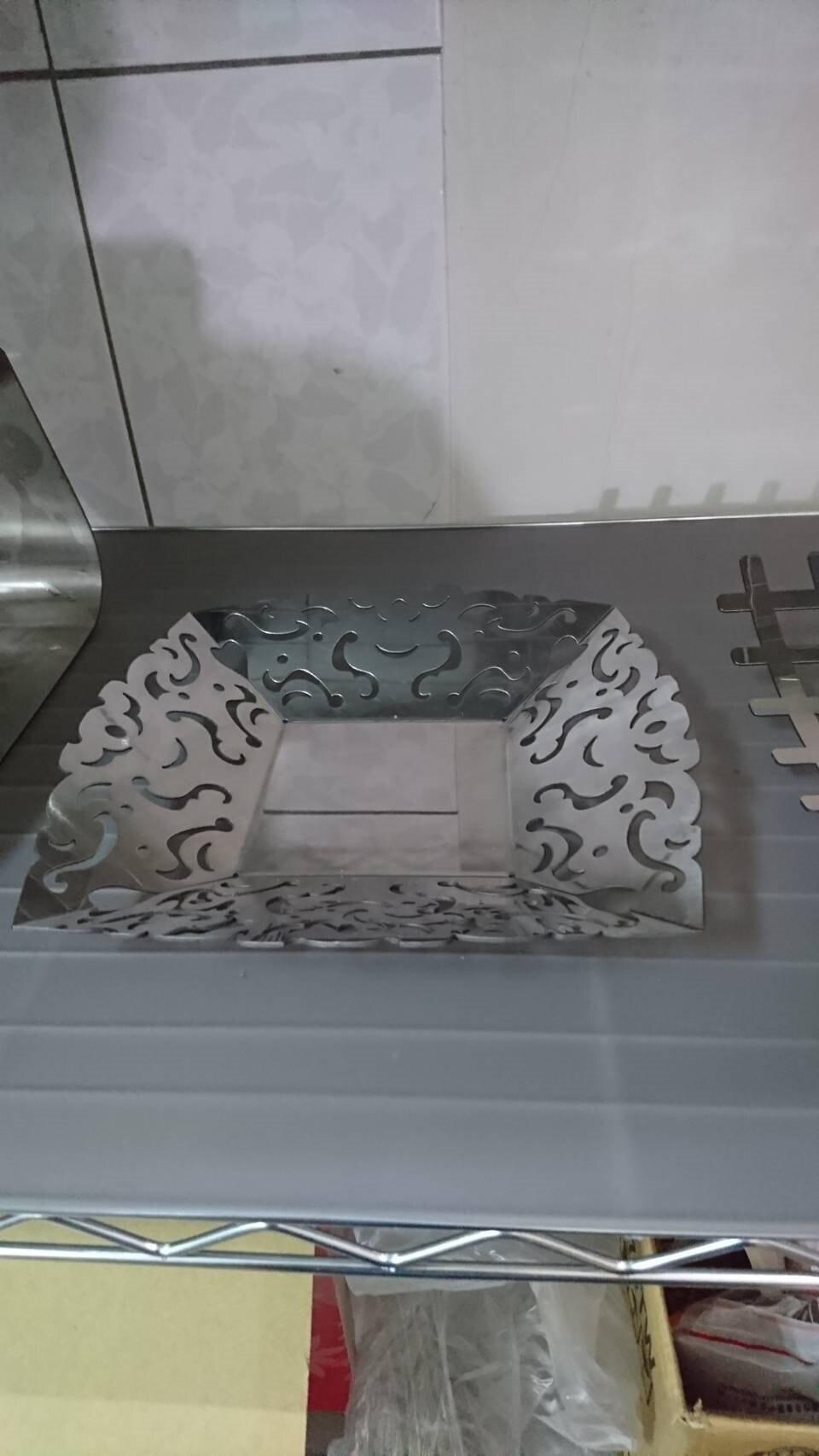 限量  金屬創作品 可裝水果及糕餅 不鏽鋼304材料