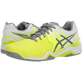 [アシックス] レディーススニーカー・靴・シューズ Gel-Resolution 7 Safety Yellow/Stone Grey (22cm) B - Medium [並行輸入品]