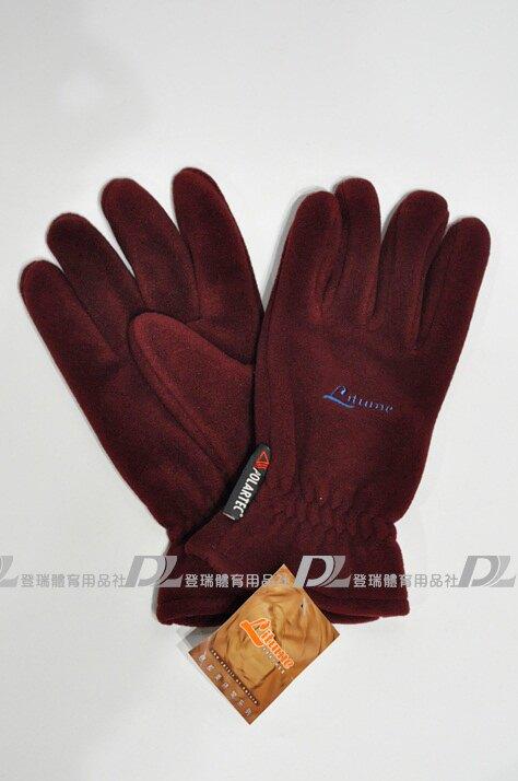 【登瑞體育】Litume 男生防風保暖手套  _ F102B3