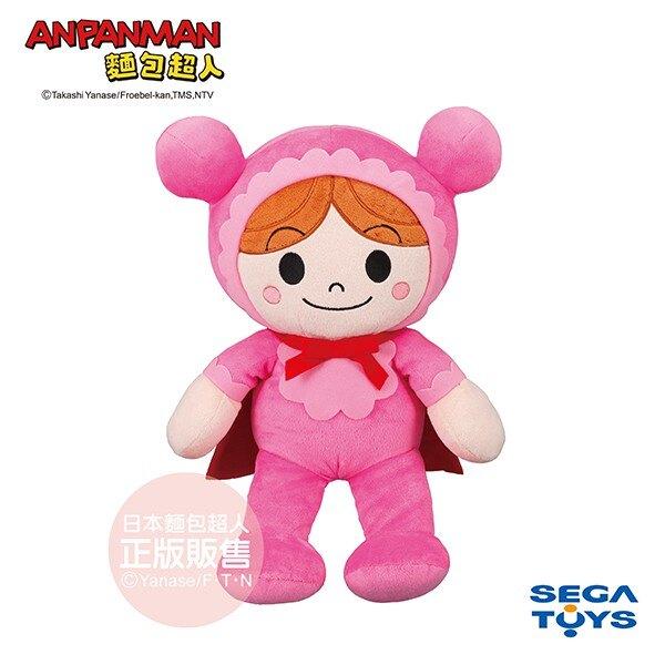 【正版公司貨】麵包超人-蓬蓬微笑布偶S PLUS 嬰兒超人