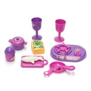 過家家玩具 仿真廚具 玩具 仿真餐具 玩具 10件套無毒無味
