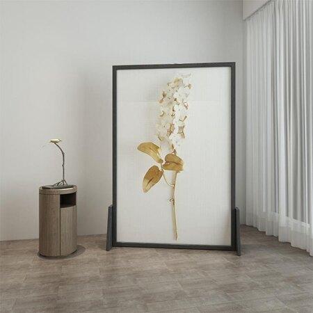屏風 歐式隔斷客廳臥室書房小戶型實木裝飾風水遮擋座屏蝴蝶蘭xw 母親節禮物